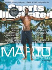 August 26, 2013 Mario Balotelli ITALY AC Milan Sports Illustrated NO LABEL WB