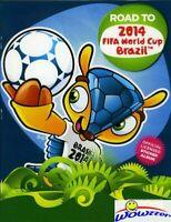 2014 Panini Stickers FIFA Road to the World Cup Brazil ALBUM !!