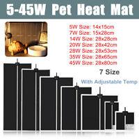Adjustable Reptile Vivarium Heat Mats Heating 5 / 7 / 14 / 20 / 28 / 35 and 45w