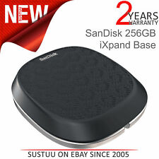 Sandisk 256GB Ixpand Base │ para Iphone/Ipad Cargador & Automático Backup │