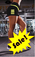LADIES WAIST SPORT FITNESS RUNNING BIKER WAIST YOGA LEGGINGS SHORTS FOR WOMENS