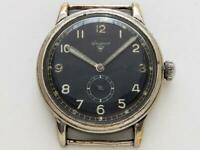 Wagner WWII Military Men's Watch German Airforce / Pilot Watch Urofa 58