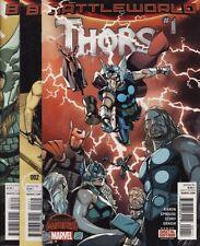 THORS #1,2,3,4 SET Marvel Comics Jason Aaron Chris Sprouse Avengers SECRET WARS