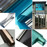One Way Thermal Insulation Films Glass Building Window Shading Sunscreen Sheet