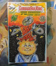Topps IDW Garbage Pail Kids Sketch Variant Comic Cover Adam Bomb GPK Original