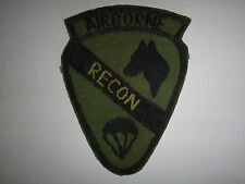 Vietnam War Hand Sewn Subdued Patch US 1st Cavalry Division AIRBORNE RECON