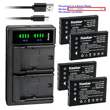 Kastar Battery LTD2 Charger for Kodak KLIC-5000 & Kodak EasyShare Z760 Camera