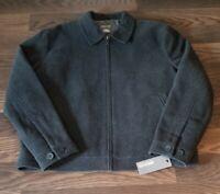 KENNETH COLE REACTION Designer Mens Jacket Men's XL Extra Large Wool Coat NEW