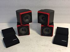 Bose Double Cube Array Redline Speakers, Tested
