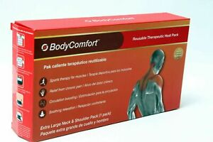 Body Comfort Therapeutic Heat Pack Extra Large Neck/Shoulder, FREE SHIP