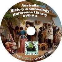 280 old books Australia History & Genealogy Australian Family