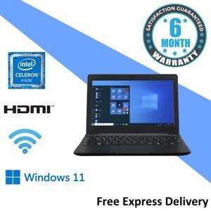 "Windows 11 Ultra Portable 11.6"" Laptop - Quad Core | 4GB | 64GB SSD - E10-G-106"