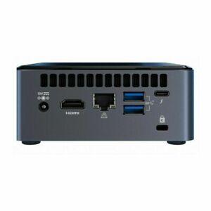 "Intel NUC Kit BXNUC10I5FNH4 Core i5-10210U Mini PC Barebone Desktop M.2 2.5"" HDD"