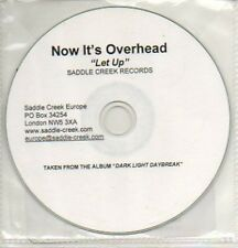 (69L) Now It's Overhead, Let Up - DJ CD
