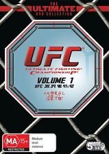 UFC Ultimate Collection Vol 1 (DVD, 5-Disc Set) UFC 38 to UFC 42 R4 NEW/SEALED