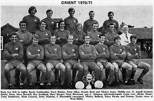 ORIENT di calcio FOTO > 1970-71 Stagione