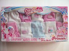 Only Girls Socks Infant Baby LittlePrincess 0-12 Mos 10 Pr Pk Gift Box  NIB