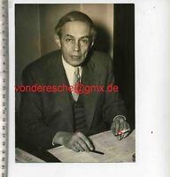 ORIGINAL PRESSEFOTO: Ernst FRIEDLÄNDER PRÄSIDENT der EUROPA UNION  - 50gerJahre