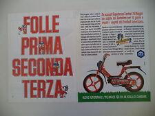 advertising Pubblicità 1987 PIAGGIO SUPERBRAVO SUPER BRAVO 3