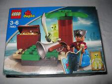 Lego Duplo Pirate Skeleton Treasure People  Lot Set #7883  RARE  COLLECTIBLE