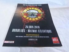 GUNS N' ROSES - Publicité de magazine / Advert !!! NOT IN THIS LIFETIME TOUR !!!