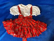 vintage Pageant Party dress size 3t 80's patchwork