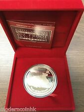 2008 Australia Lunar Year Of The Mouse 2 oz Silver Proof $2 Coin BOX COA