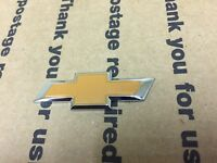 NEW CHEVY CHEVROLET FRONT SIDE STEERING WHEEL AIRBAG AIR BAG LOGO EMBLEM BROWN