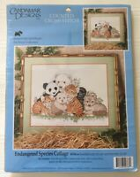 Candamar Designs Counted Cross Stitch Endangered Species Collage 50766 Animals