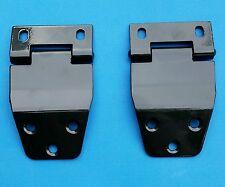 76-86 CJ7 Rear Hardtop Upper Liftgate Door Hinge 8128520  BLACK HINGES (PAIR)