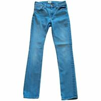J.CREW Womens Matchstick Slim Skinny Jeans Blue Medium Wash Stretch Mid Rise 25