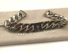NEW MICHELE DECO MINI (ONLY) 12mm stainless steel chain bracelet - MS12DK235009