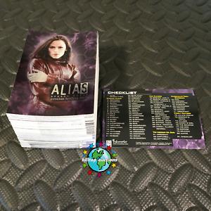 ALIAS SEASON 3/THREE COMPLETE 81-CARD PREMIUM TRADING CARDS SET 2004 INKWORKS