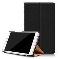 """Pellicola+Custodia Smart Cover case stand NERA per Huawei Honor Pad 2 8.0"""" nuova"""