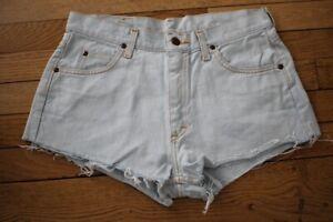 LEE Short en Jeans Femme W 31  Taille Fr 40 (Réf # V-167)