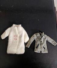 Vintage 1963 Barbie Skipper Fur Coat & Blazer