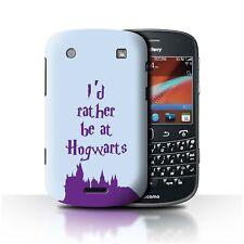 STUFF4 Back Case/Cover/Skin for Blackberry Bold 9900/School Of Magic