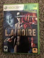 L.A. Noire for Microsoft Xbox 360 Video Game CIB Complete