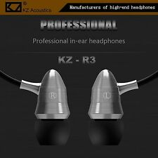 High-End Kopfhörer KZ-R3 Professional Metal Version In-Ear Hardcase Bass Beats