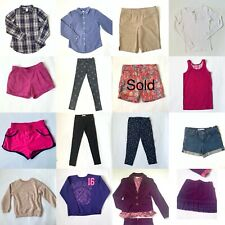 lot of girls clothes size 9/10