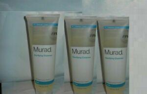 3 x Murad Acne Clarifying Cleanser /4.5 fl. oz.New Sealed no box