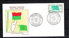 Madagascar  enveloppe  union Africaine     1962