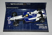 Minichamps F1 1/43 WILLIAMS BMW RALF SCHUMACHER LAUNCH CAR 2002