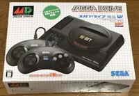 NEW SEGA Mega Drive Mini W JP Ver  16 bit Vintage Game Select type