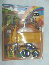 MOB JOUET TRATTORE CON RIMORCHIO  giocattolo vintage anni 70 FRANCIA