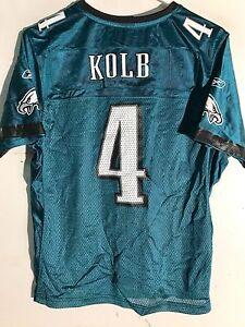 Reebok Women's NFL Jersey Philadelphia Eagles Kevin Kolb Green sz M