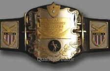 AWA Championship Belt Heavyweight Metal Plates Wrestling Belt