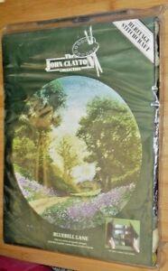 John Clayton Collection Tappestry Design Bluebell Lane Stitch Kit 1999 Heritage-