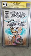 back to the future 1 cgc 9.8/9.6 signed by BTTF cast michael J Fox !