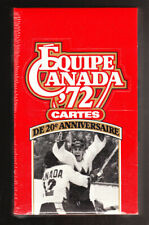 SEALED 2 LOT 1972 TEAM CANADA 20TH ANNIVERSARY HOCKEY TRADING CARD BOXES
